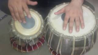 Learn how to play slow kehrwa taal on tabla lesson 17th . Simple and easy technique