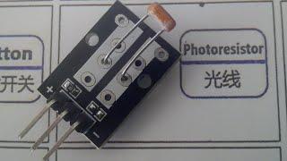 Arduino: Fotoresistencia (KY-018 37in1 kit) | TechKrowd