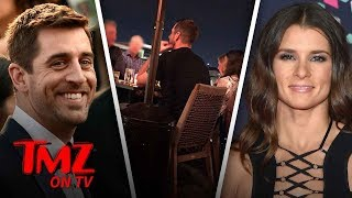 Aaron Rodgers And Danica Patrick Are Official-ly Dating! | TMZ TV