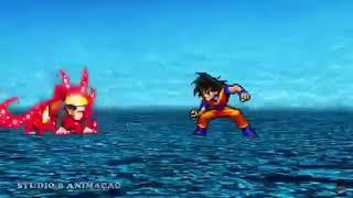 Naruto vs Goku [VF]