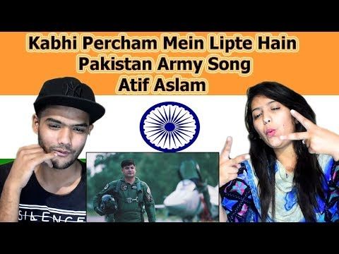 Xxx Mp4 Indian Reaction On Kabhi Percham Mein Lipte Hain By Atif Aslam Pakistan Army Song Swaggy D 3gp Sex