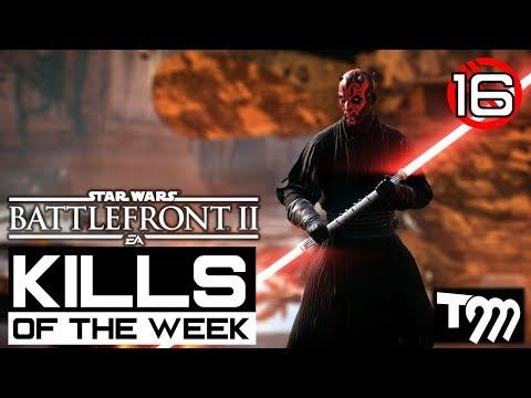 Star Wars Battlefront 2 TOP 10 KILLS OF THE WEEK 16