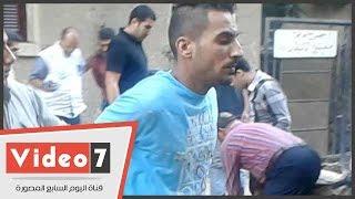 بالفيديو.. لحظة القبض على عصابة سرقة سيارات بمنطقة الزيتون