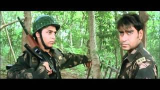Indian Movie - Tango Charlie - Drama Scene - Bobby Deol - Ajay Devgan - Aaj Dost Kal Dushman