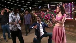 Actress Tamanna Hot Sexy moments @ Shooting Spot