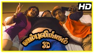 Jambulingam 3D Movie scenes | Gokulnath Sumo Fight Scene | Anjena Kirti | Sukanya