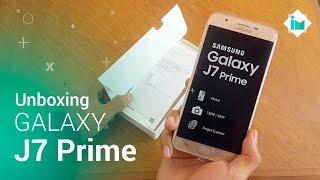 Samsung Galaxy J7 Prime - Unboxing/Hands-On en español