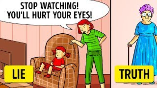 10 Things Our Parents Lied to Us About