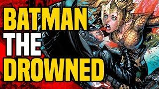 Dark Nights Metal: Batman The Drowned ( Female Batman Becomes Aqua Monster )