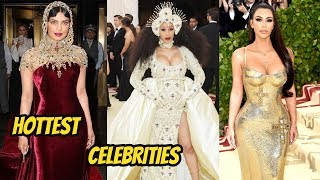 Best Dressed Met Gala 2018 Beautiful Actress ||Red carpet Walking || Priyanka |Rihanna |selena
