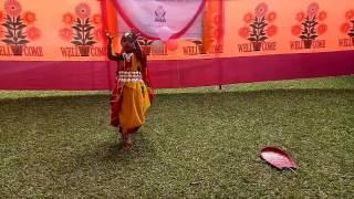 Elizabeth Sreoshi Dance Notun Dhaner Chira Dibo