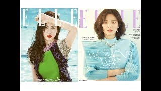 Song Hye Kyo for Elle Kore 2015 and 2019 ❤always so  beautiful #songhyekyo