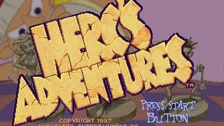 Classic PS1 Game Herc's Adventures on PS3 in HD 1080p