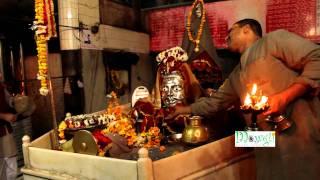 Evening Aarti Shri Mankameshwar Lord Shiva Temple At Agra