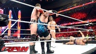WWE World Heavyweight Championship Ladder Match Qualifying Battle Royal: Raw, June 16, 2014