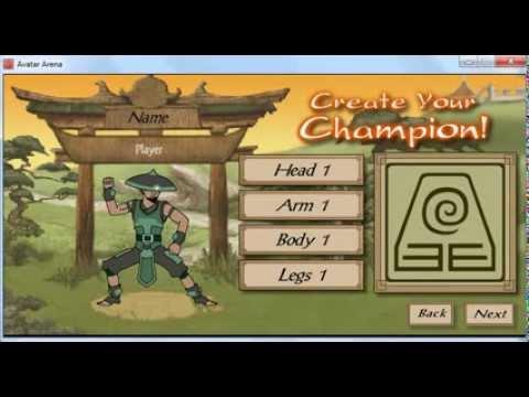Gameplay Avatar Arena Amo o Elemento Terra P