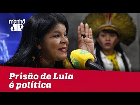Vice de Boulos diz que prisão de Lula é política: 'consideramos injusta'