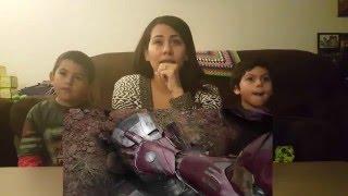 Marvel's Captain America: Civil War - Trailer 2 Cynthia's Reaction