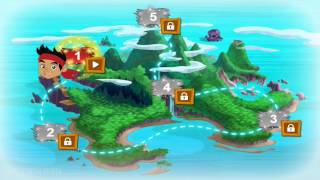 Jake and the NeverLand Pirates Full Episode of Never Land Rescue Game - Complete Walkthrough