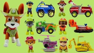 Paw Patrol NEW Pup Tracker Jungle Command Center Rescue Vehicles Mission Cruiser