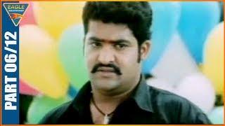 Main Hoon Gambler Hindi Dubbed Movie  Part 06/12 -    Jr. NTR, Shriya Saran, Genelia, Ramya Krishnan