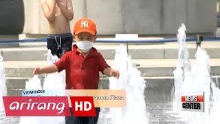 [Viewfinder] 12.23 Fountain at Gwanghwamun Plaza