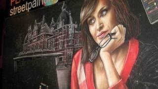 street painting by leon keer