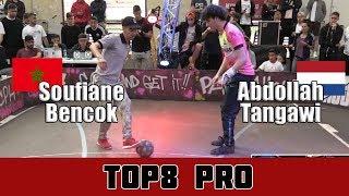 Soufiane Bencok VS Abdollah Tangawi   TOP8 PRO, Pannahouse Invitationals 2017
