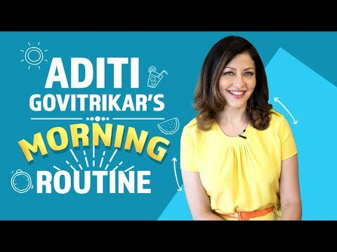 Xxx Mp4 Aditi Govitrikar S Morning Routine Fashion Bollywood Pinkvilla 3gp Sex