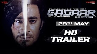 Gadaar - The Traitor Official Trailer | Amitoj Mann | Punjabi Movie Full Movie Out Sagahits