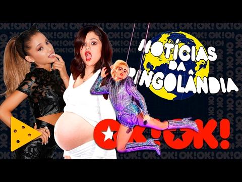 Lady Gaga no Super Bowl Selena Gomez grávida Ariana Grande grávida todas grávida