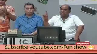 Best comedy clip of Khabardar with Aftab Iqbal -  US Electronic