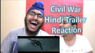 Captain America Civil War Hindi Trailer Reaction