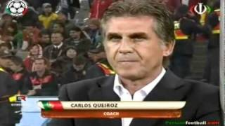 Carlos Queiroz   The new coach of Iran