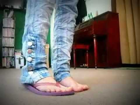 all my flip flops