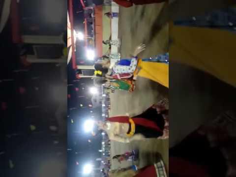 Muskan Shaw garba dance at Baroda
