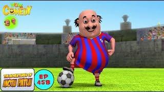 Football Match - Motu Patlu in Hindi -  3D Animated cartoon series for kids  - As on Nickelodeon