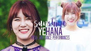 PRISTIN Sunshine Yehana Vocal and Dance Performances
