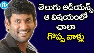 Madha Gaja Raja Movie is Close to My Heart - Vishal @ Audio Launch - Anjali || Vishal