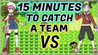 We Have 15 Minutes to Catch a Randomized Team Then We FIGHT! Pokemon Crystal