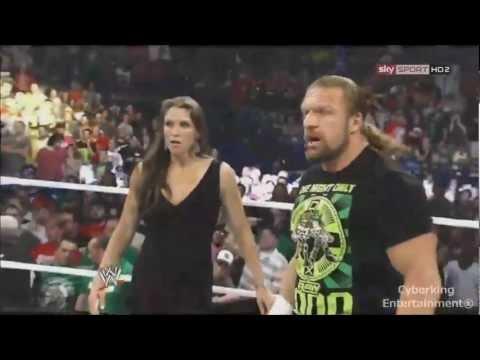 WWE Brock Lesnar vs Triple H SummerSlam 2012 promo HD