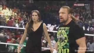 WWE Brock Lesnar vs Triple H SummerSlam 2012 promo HD