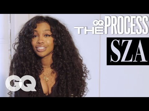 """How SZA Wrote """"Supermodel"""" The Process GQ"""