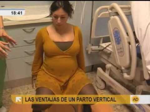 Ventajas de un parto vertical