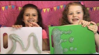 Slime Making with Elmer's Slime Making Kit!
