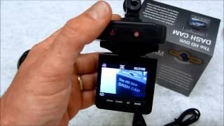 HD 720P Car DVR Video Camera Recorder Review