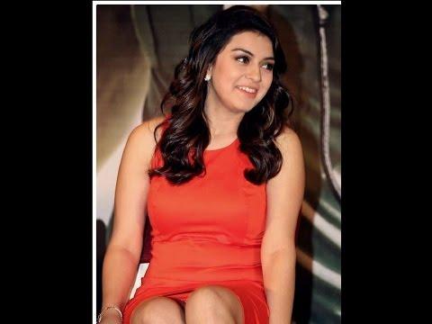 Hot Actress Hansika Panty Line Scene