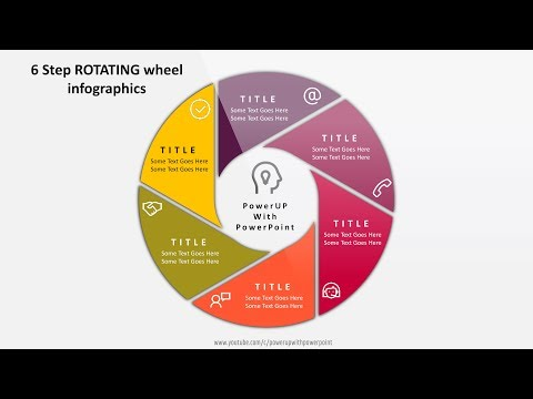 wheel template for powerpoint template free download