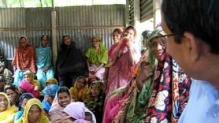 Grameen Bank Center Meeting