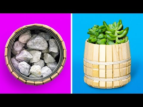 24 ORIGINAL POTS AND PLANT PROJECTS